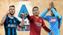 Innenverteidiger-Karussell in der Serie A
