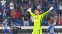 Omlin wartet auf die Bundesliga