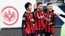 Frankfurt: Der Plan mit Jovic & Younes