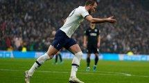 United: Keine Chance bei Kane