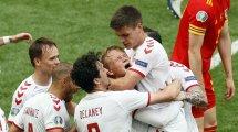Dänemark furios ins Viertelfinale