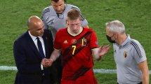 Belgien bangt um De Bruyne & Hazard