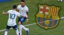 "Messi: ""Lautaro ist beeindruckend"""