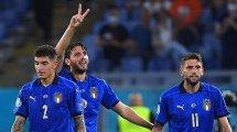 Italien - Österreich: Die Aufstellungen