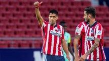Atlético: Suárez ablösefrei zu haben