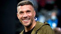 """Podolski: """"Habe zwei, drei Anfragen"""""""