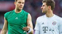 FC Bayern: Müller hofft auf Neuer-Verlängerung