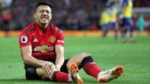 Sánchez bei United auf dem Abstellgleis – der tiefe Fall