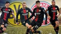 Bayer-Quartett könnte gehen | Neuer Stürmer aus England?