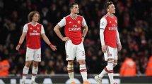 "Özil-Zoff & ""Angst vor dem Ball"": Arsenals Krise immer schlimmer"