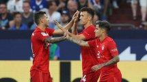 FC Bayern: Die Noten für Lucas, Coutinho & Perisic