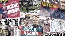 Ronaldos Segen für Sarri | Wettskandal erschüttert Spanien