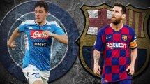 Neapel vs. Barça: Die voraussichtlichen Aufstellungen