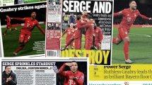 """""""Serge versprüht Sternenstaub"""" – die englischen Pressestimmen zur Bayern-Gala"""