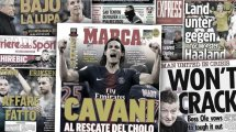 Atlético kämpft um Cavani | Rodrigo steht unter Beobachtung