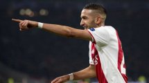 Ajax: Freigabe für Ziyech