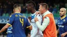 Balotelli vom Training ausgeschlossen