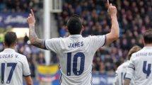 Atlético: Neuer Anlauf bei James