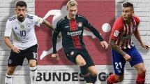 Diese Bundesliga-Transfers sind schon fix