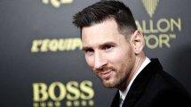 Ballon d'Or: Messi zum sechsten Mal Weltfußballer