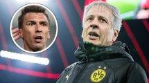 BVB-Stürmersuche: Favre äußert Zweifel an Mandzukic