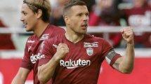 Perfekt: Podolski unterschreibt bei Antalyaspor