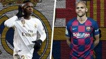 Real vs. Barça: Die voraussichtlichen Aufstellungen