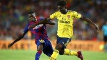 Fix: Barcelona verleiht Wagué