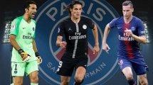 PSG-Umbau: Zehn Spieler auf der Streichliste