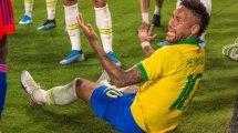 Brasilien - Argentinien: Seleção ohne Neymar