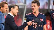 """Pavard nimmt Kovac in Schutz: """"Gute Beziehung"""""""