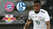 Gute Gespräche: Schnappt sich Schalke City-Flitzer Matondo?