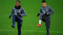 FC Bayern: Zeichen auf Abschied bei James – Diskussionen um Sanches