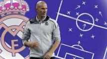 Real-Startelf: Zidane am Ende der Suche
