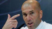 """Zidane: """"Bin schon lange in Mbappé verliebt"""""""