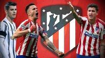 Atlético: Sieben Namen auf der Abschiedsliste