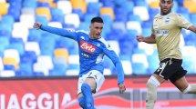 Lazio hat Callejón im Visier