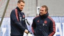 FC Bayern: Flick umgarnt Neuer, Alaba & Co.