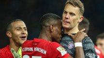FC Bayern: Die Knackpunkte bei Neuer & Alaba