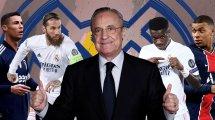 Ronaldo, Ramos, Mbappé: Pérez mit Klartext