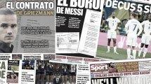 Griezmann entgehen 177 Millionen | Messis Fax geleaked