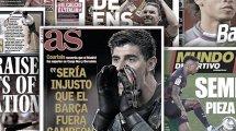 Courtois soll die Klappe halten | Bleibt Torres doch?