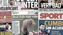 Neymar bringt PSG in Bedrängnis | Ramos springt Messi zur Seite