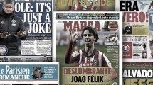 """Überwältigender"" João Félix | Wütender Solskjaer"
