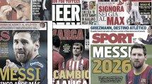 City-Gerüchte um Lewy | Messi-Mania in Spanien