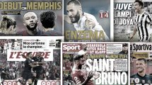 """Neuzugang"" Benzema | England feiert die Fernandes-Pogba-Show"