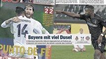 Schwitzende Bayern | Thuram ein physisches Wunder