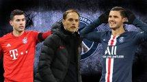PSG: Tuchels Wunschelf für die nächste Saison
