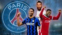Fulminante Transferoffensive: So könnte PSG nächste Saison auflaufen