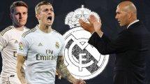 Real Madrid: Die Elf zum Saisonauftakt